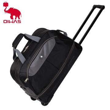 爱华仕超大容量短途旅行包无拉杆手提单肩旅游行李包