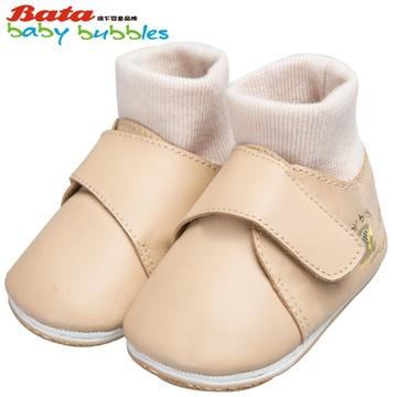 bata童鞋女童皮鞋公主鞋男童真皮鞋羊皮鞋宝宝鞋子鞋