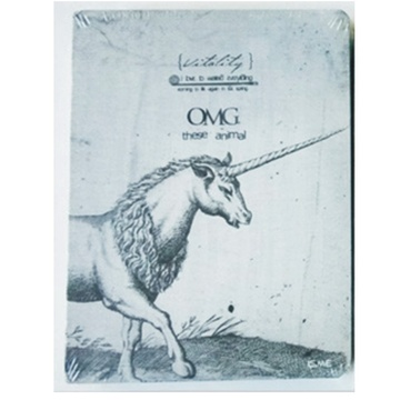复古动物素描裸装笔记本日记涂鸦本子