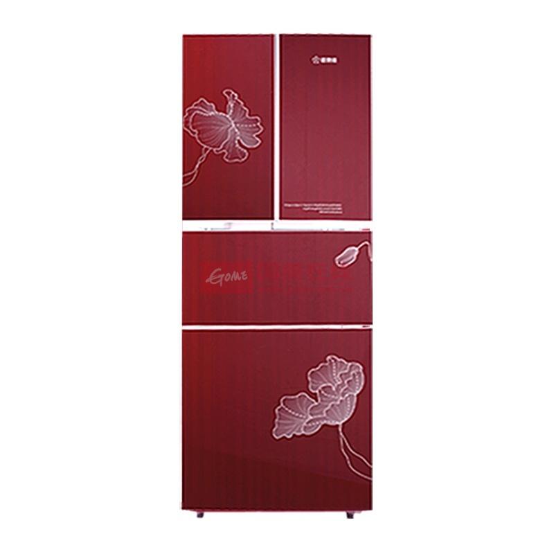 香雪海 bcd-290hn 290升四门冰箱冷冻冷藏软冷冻(浪漫